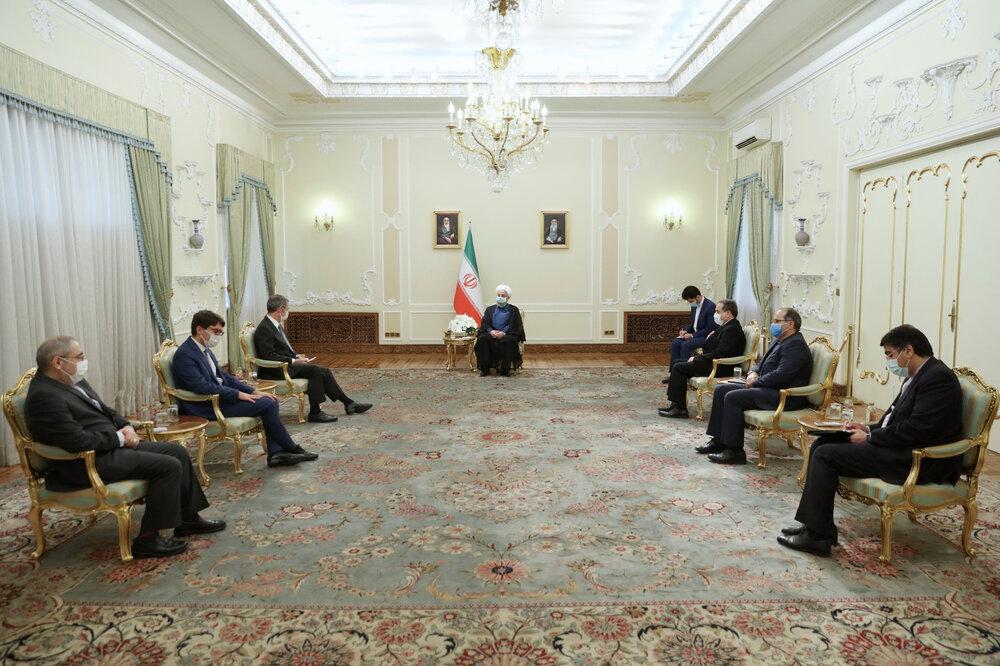 اروپایی ها اجازه ندهند تحریمهای آمریکا بر روابط اقتصادی آنها با ایران تاثیر بگذارد