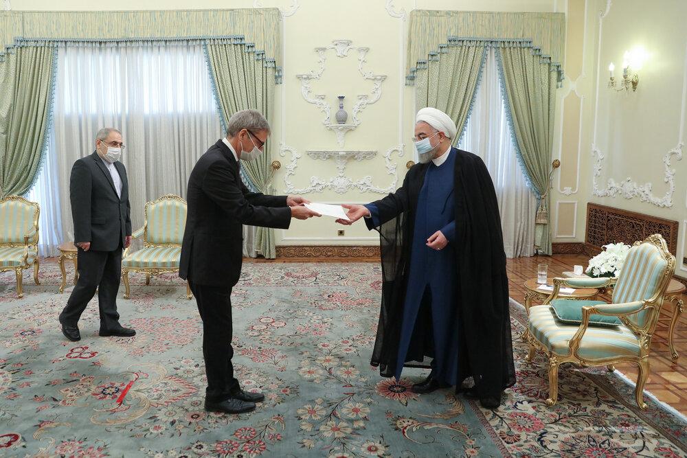ایران آماده گسترش همکاریهای خود با دانمارک است