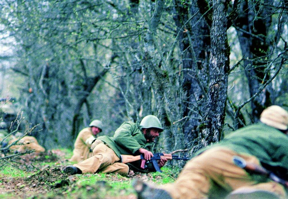 استقرار صلحبانان روسی در قره باغ