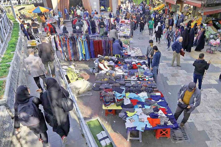 بهبود وضعیت کسبه بازار روز خاوران تهران
