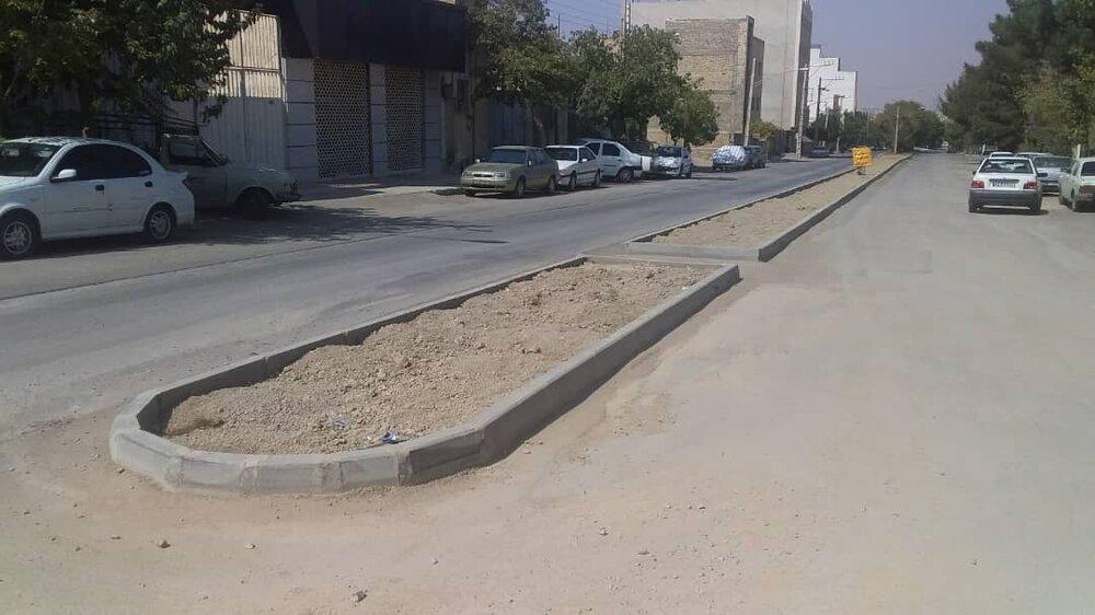 اتمام عملیات ساماندهی بلوار سروستان و خیابان انتهایی شهرک مخابرات در منطقه ۱۵