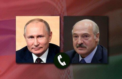 پوتین و لوکاشنکو بر تحکیم اتحاد روسیه و بلاروس تاکید کردند