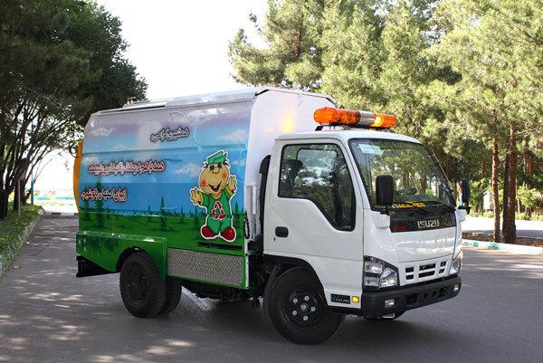 تجهیز ۳۲ دستگاه خودروی جمعآوری پسماند خشک به سیستم AVL