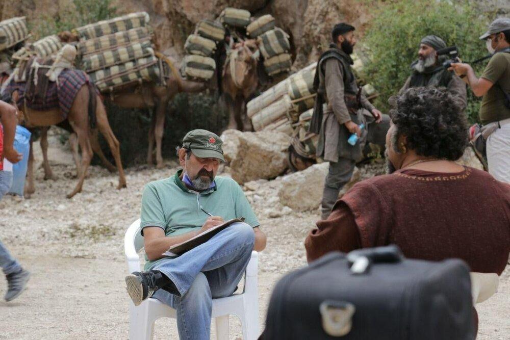 سلمان فارسی به لوکیشین فیلم محمد (ص) رسید
