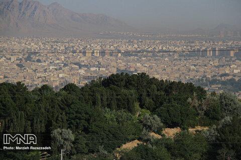 امروز هوای اصفهان بر مدار نارنجی است