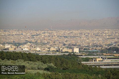 هوای اصفهان غبارآلود میشود