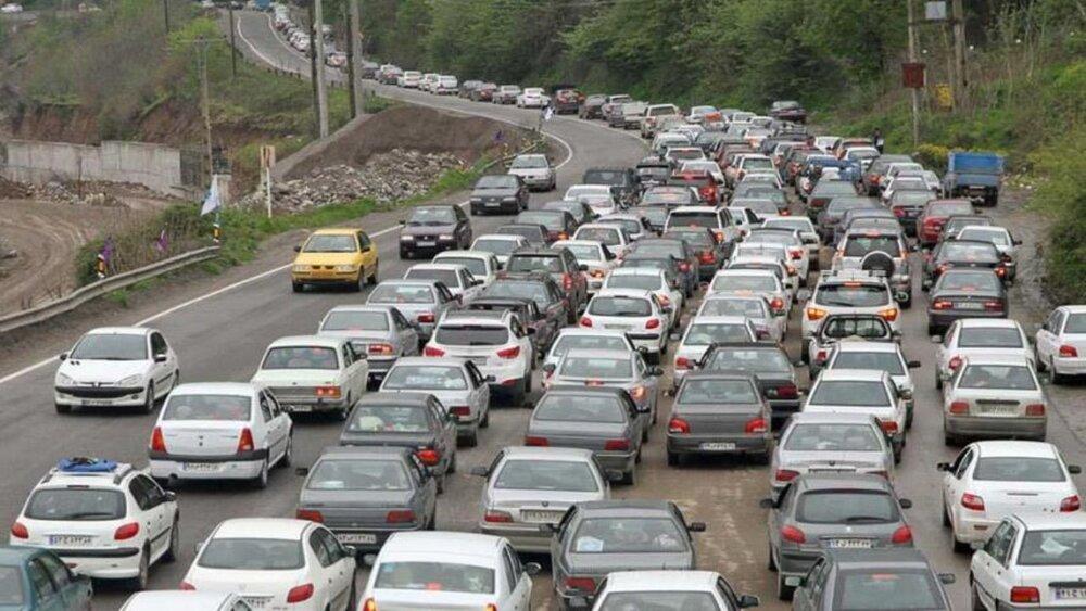 آخرین وضعیت ترافیکی خیابانهای کلانشهر اصفهان