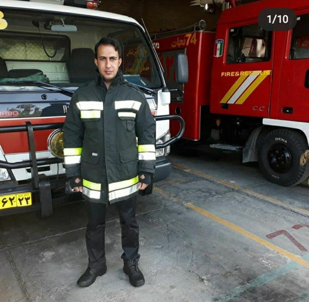 آتشنشان اصفهانی حین اجرای مانور جان باخت