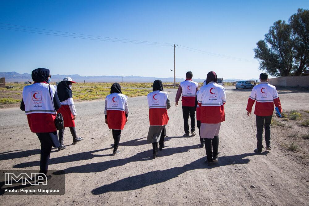 مصاف امدادگران سرخ پوش با کرونا