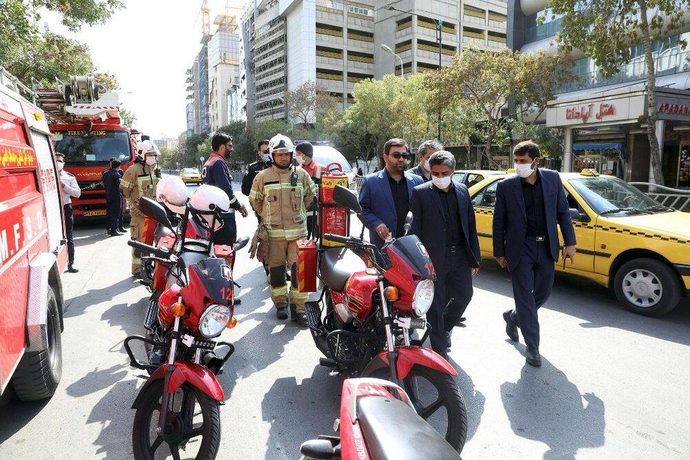 خدمت رسانی بیش از ۲۷۰ نفر از نیروهای خدمات شهری مشهد در روز اربعین
