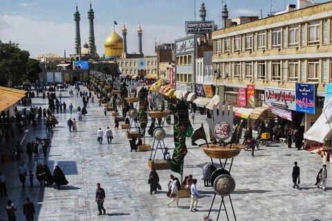 پروژههای احداث پیاده راه در اطراف حرم حضرت معصومه(س) شاخص است