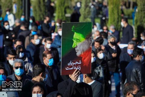 نقش بستن نام محمدرضا شجریان بر خیابانی در اراک