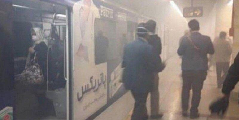 جزئیات حریق در ایستگاه مترو اکباتان در تهران