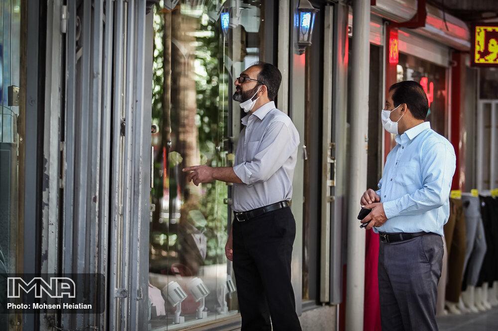 آغاز جریمه افراد فاقد ماسک در تهران