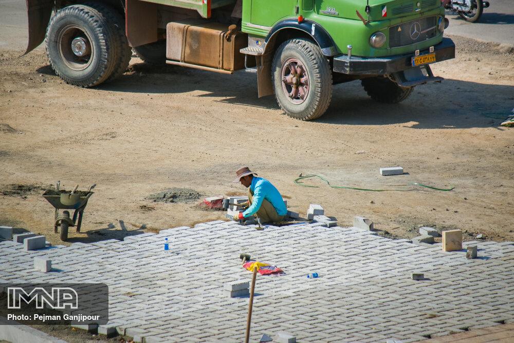 اجرای عملیات کففرش خیابان نظر میانی تا قبل از پایان سال