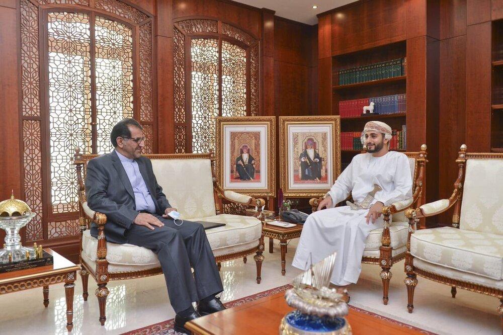 دیدار سفیر ایران در عمان با ذی یزن بن هیثم