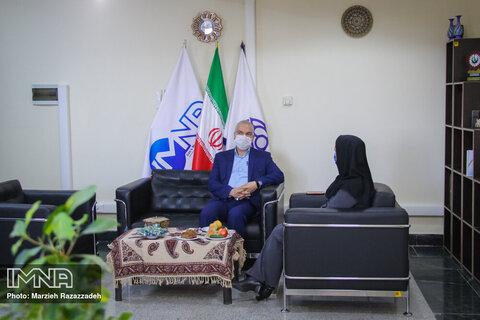 بازدید مدیر خزانه داری شهرداری اصفهان از ایمنا