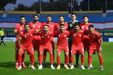 فضای شاد در تمرین تیم ملی فوتبال ایران + عکس