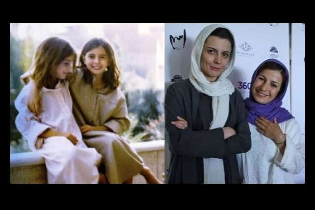 عکسی خاطره انگیز از لیلا حاتمی و لیلی رشیدی