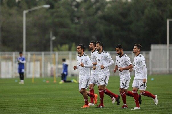 تست کرونای بازیکنان تیم ملی ایران منفی شد