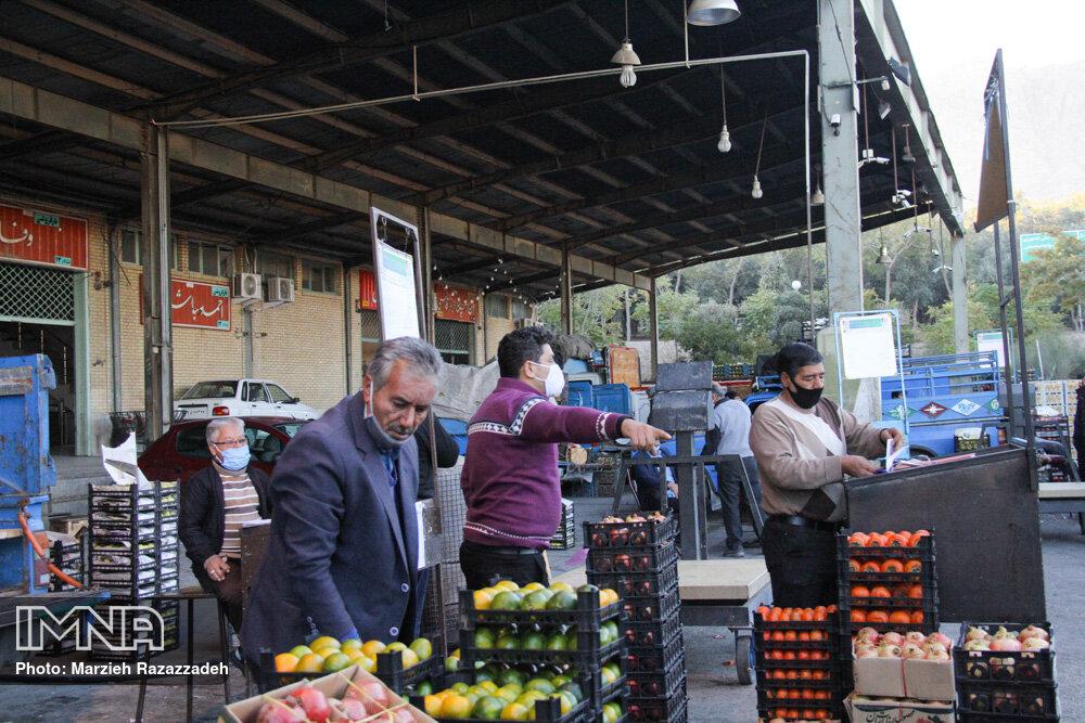 قیمت میوه و تره بار در بازار امروز ۶ آذرماه + جدول