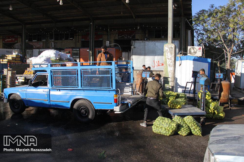 میادین و بازارهای میوه و تره بار تهران تعطیل نمیشود