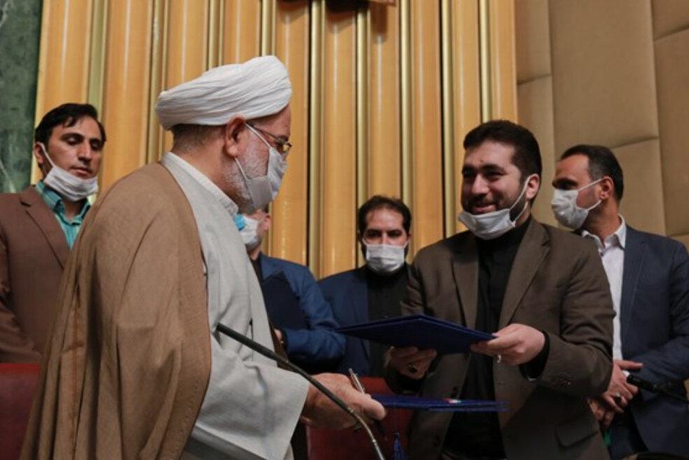 امضایتفاهمنامه همکاری میان شورای عالی استانها و دیوان عدالت اداری
