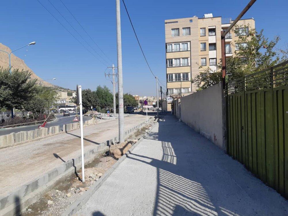بهرهبرداری از خیابان کمکی دسترسی به بلوار کشاورز تا پایان آبانماه ۹۹