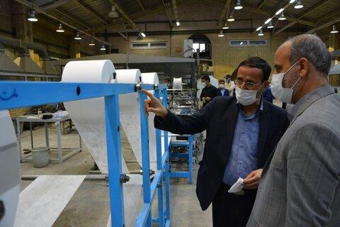 اصفهان در زمینه تولید ماسک به خودکفایی رسیده است