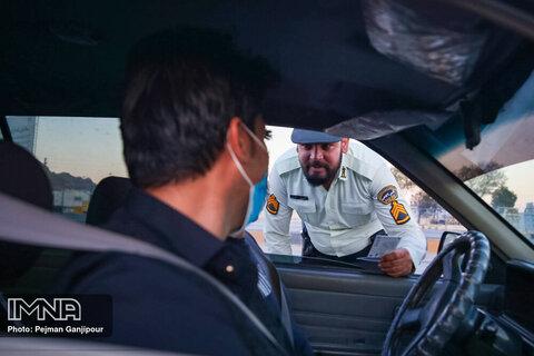 جریمه کرونایی بیش از ۱۵۰ هزار خودرو در روز گذشته