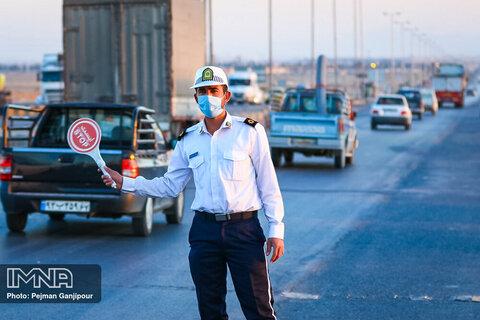 ترددها در اصفهان ۹۳ درصد کاهش یافت