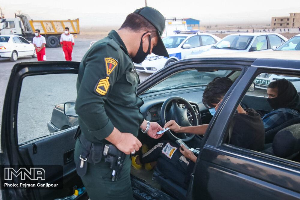 برخورد سختگیرانه با نقضکنندگان قانون منع تردد/توقیف ۲۱۵ خودروی هنجارشکن
