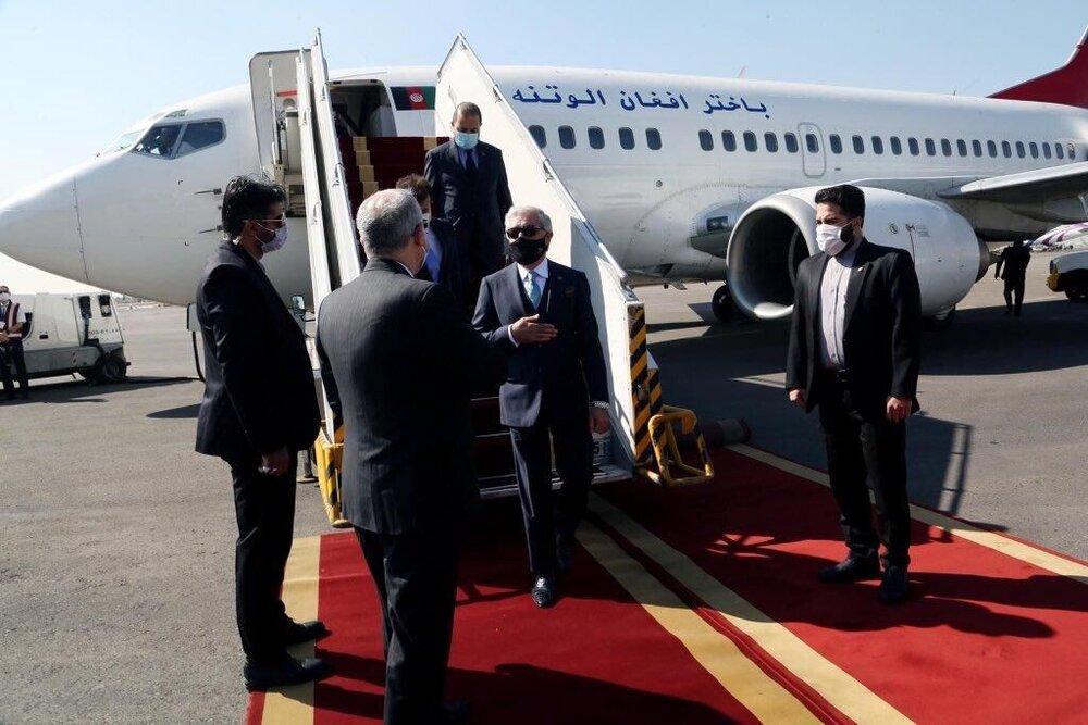 عبدالله عبدالله وارد تهران شد
