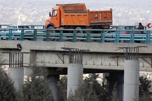 اتمام عملیات عمرانی پروژه تعریض پل شهید ستاری