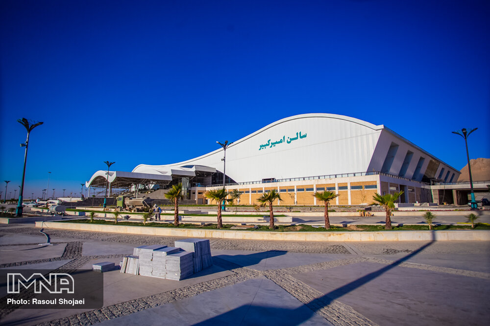 پیشرفت نمایشگاه بین المللی جدید اصفهان