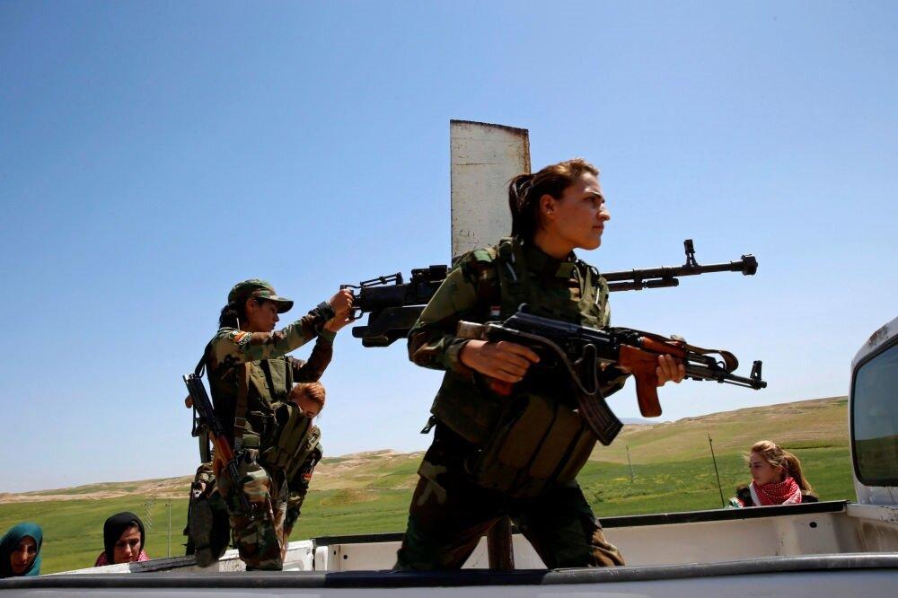 وزارت دفاع ارمنستان از تشکیل گردان زنان برای نبرد در قرهباغ خبر داد