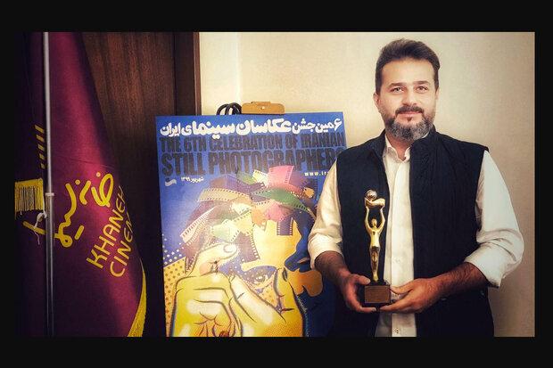 احمدرضا شجاعی عکاس سال سینمای ایران شد