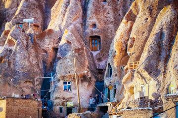 Iran's hand-carved village