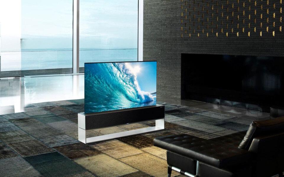 تلویزیون رول شدنی ال جی وارد بازار شد+ مشخصات و قیمت