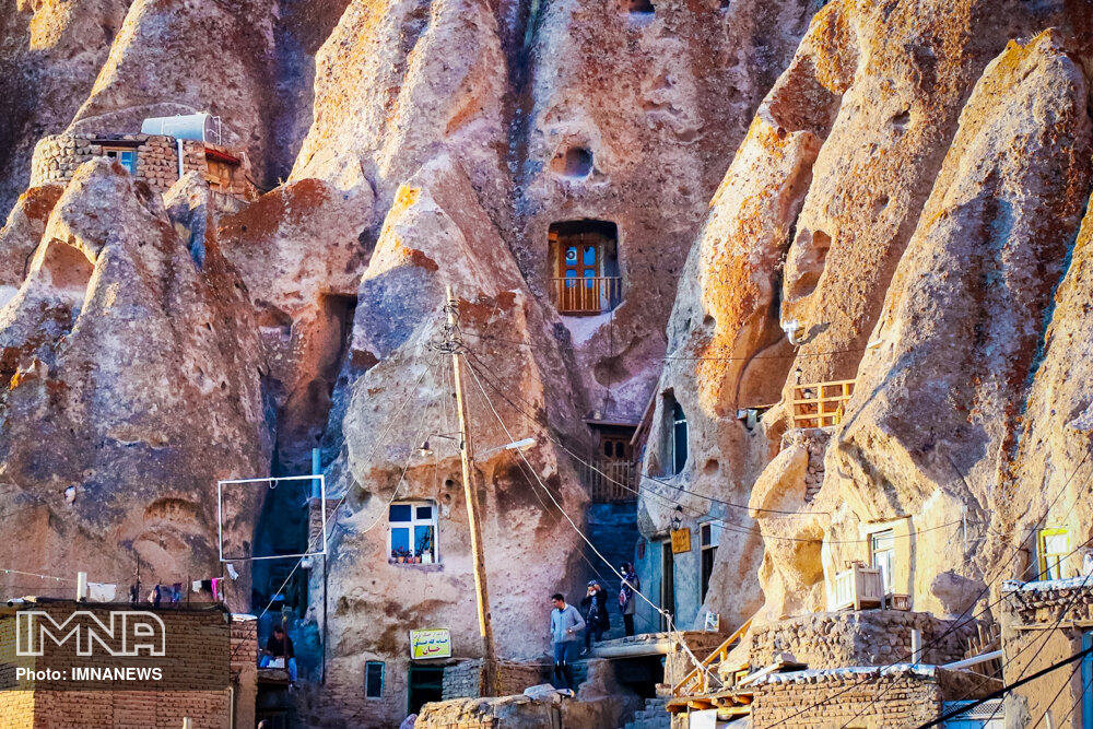 Iran's hand-carved village