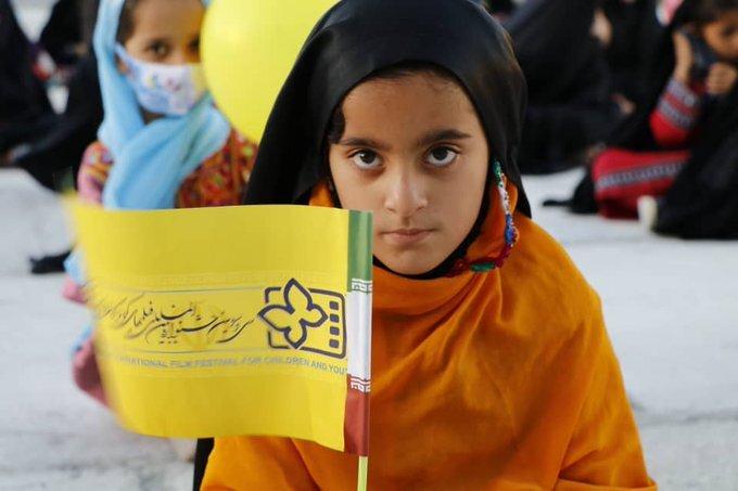 بچههای بلوچستان با کاروان جشنوارهفیلمکودکونوجوان همراه شدند