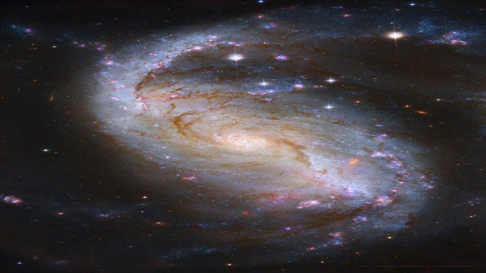 دانستنیهای کهکشان مارپیچی میلهای