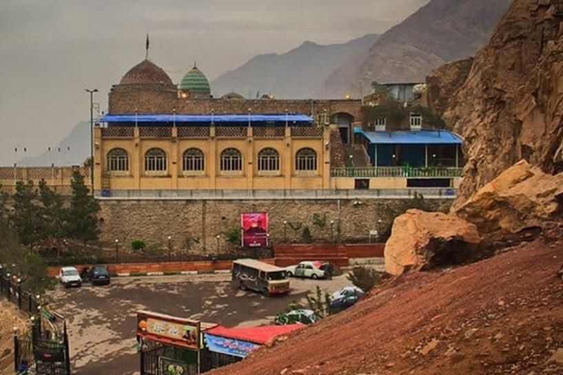 خاک کوه بیبی شهربانو ملات کاخهای تهران میشود