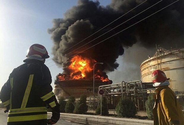 آتشسوزی در پتروشیمی بندرامام