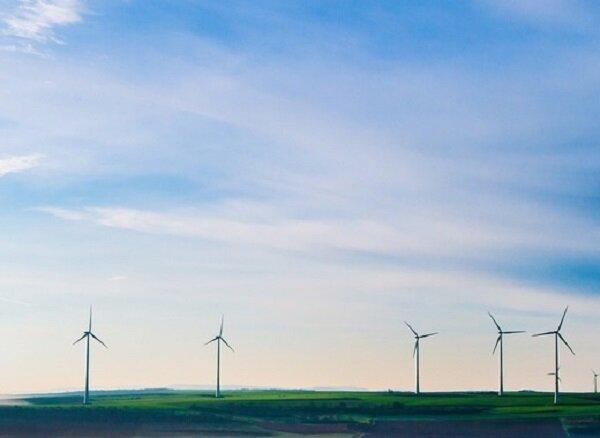 بزرگترین نیروگاه بادی دانمارک در سواحل یوتلاند