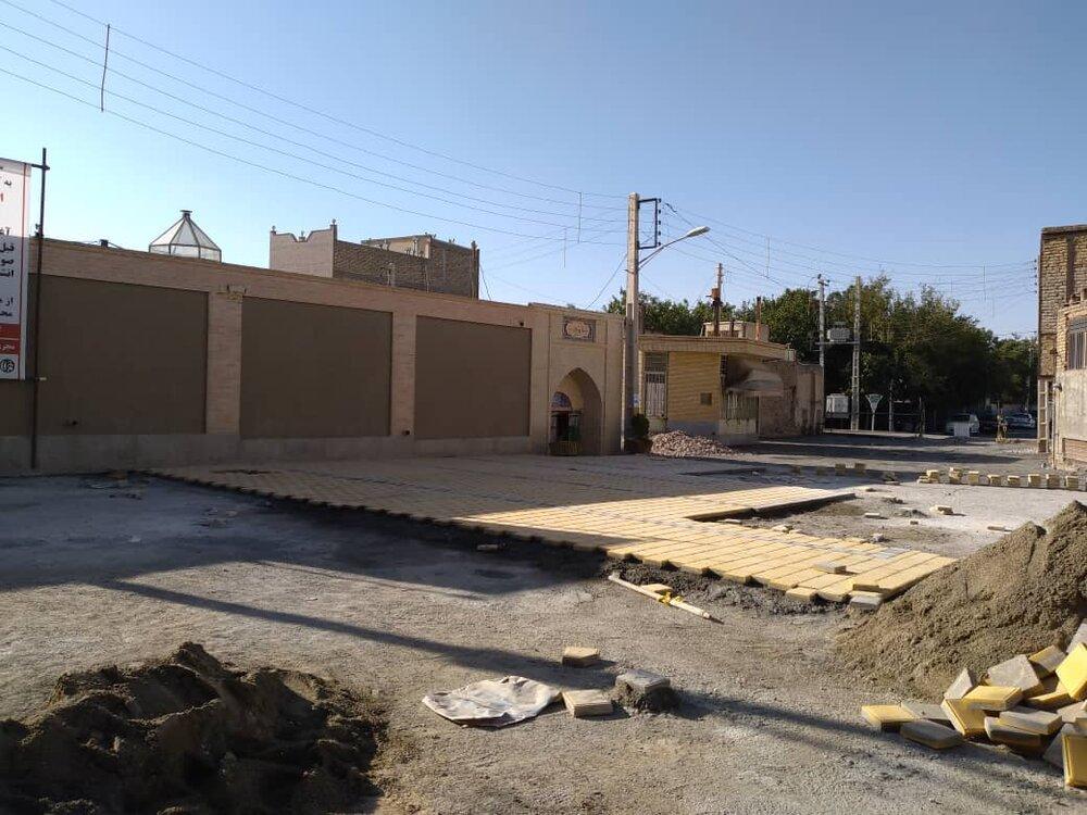 اجرای عملیات بازسازی حمام تاریخی وانشان گلپایگان