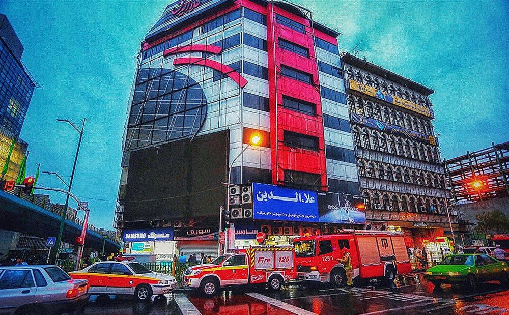 علت قطع برق پاساژ علاءالدین