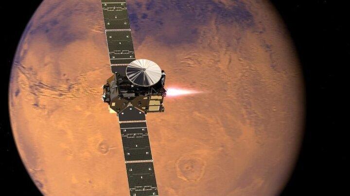 اینترنت مریخ توسط ماهوارههای استارلینک تامین میشود