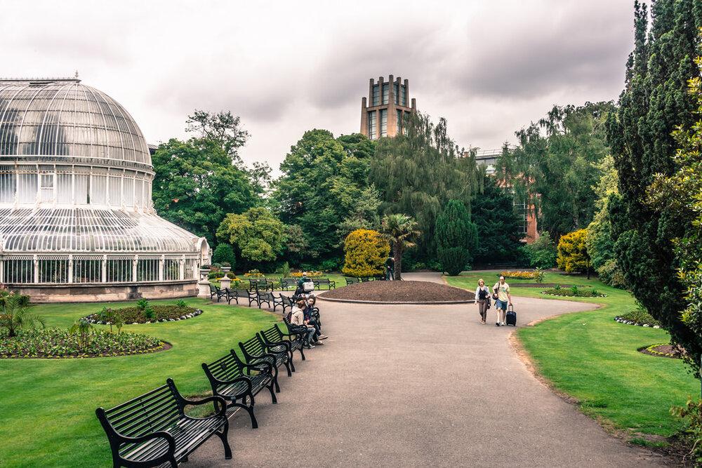ترویج پارکهای فوری در ایرلند
