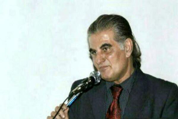 کیومرث یزدانی شاعر اصفهانی در بستر بیماری